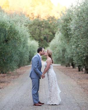 A Romantic Pink-and-Taupe Outdoor Wedding in California