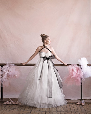 Ballet-Inspired Bridal Fashion