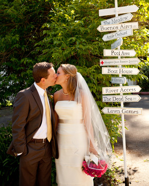 Destination Wedding: Laura and Dustin, Guerneville, California