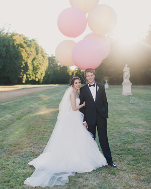 A Formal Wedding with Whimsical Touches in France