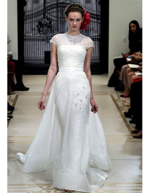 Wedding Dresses with Soft Sleeves from Spring 2012 Bridal Fashion Week