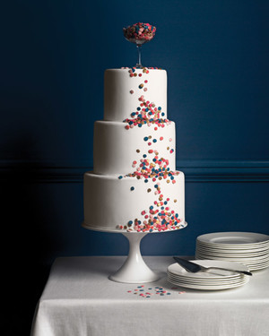 Confetti-Inspired Wedding Ideas