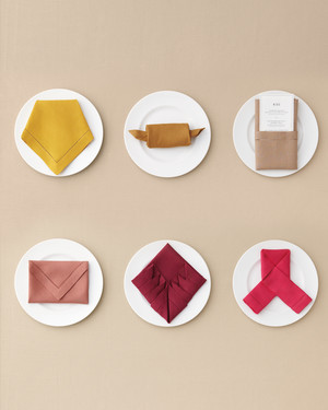 7 Ways to Fold a Table Napkin for Your Big Day and Every Day