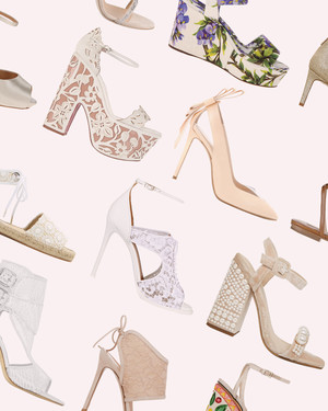 15 Outdoor Wedding Shoes That Won't Sink Into the Grass | Martha ...