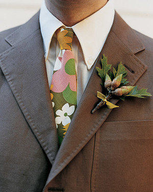 Real Weddings with Brown Ideas