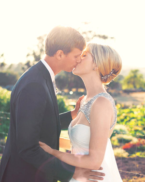 Real Wedding: Alexa and Matthew, Napa, California