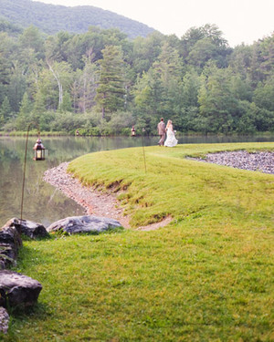 A Rustic Pink Destination Wedding in Vermont