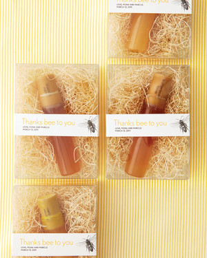 Delicious (and DIY) Wedding Favors