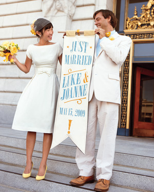 20 City Hall Wedding Dress Ideas for Making It Official in Style