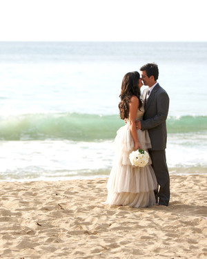 An All-Natural Beach Destination Wedding in Hawaii