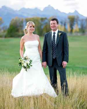 A Rustic DIY Wedding with Vintage Touches in Jackson Hole, Wyoming
