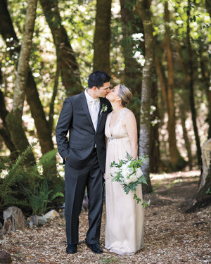 Nicki and Mike's Rustic Wedding in the Northern California Woods