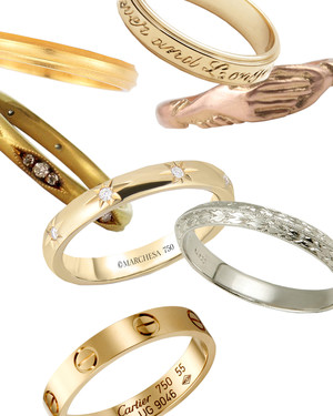 12 gold wedding bands for women that weve taken a shine to - How To Buy A Wedding Ring