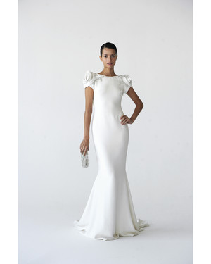 Modern Sheath Wedding Dresses, Fall 2012 Bridal Fashion Week