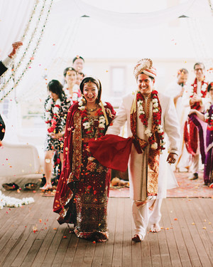 Judy and Prem's Multicultural Austin Wedding