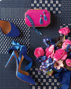 9 Ways to Add Navy and Fuchsia to Your Wedding Celebration