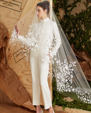 Chic Wedding Suits for Brides
