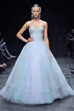 Colored Wedding Dresses, Fall 2013
