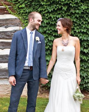 A Patriotic Outdoor Rustic Destination Wedding in Ohio
