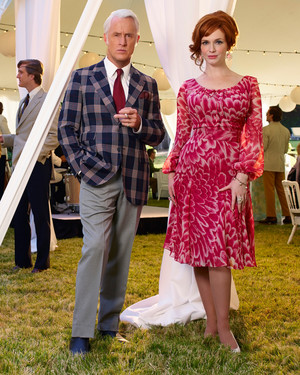 Marry Me, Martha! Roger Sterling and Joan Holloway's Mad Men-Inspired Wedding