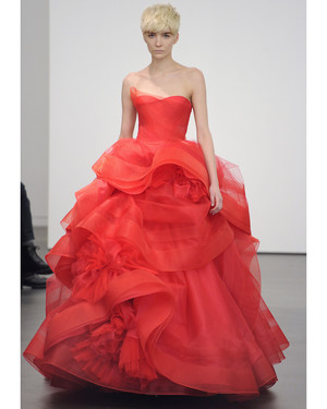 Vera Wang, Spring 2013 Collection