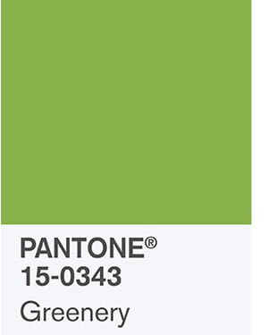 Wedding Color Ideas Inspired by the 2017 Pantone Shade: Greenery