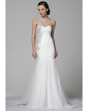One Shoulder Wedding Dresses, Spring 2013 Bridal Fashion Week