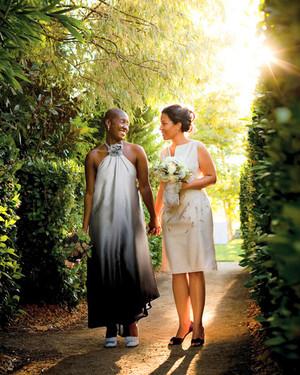 Real Wedding: Tia-Nicole and Garnette, Sonoma, California