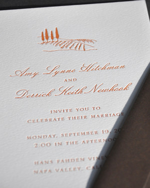 classic wedding invitations | martha stewart weddings, Wedding invitations