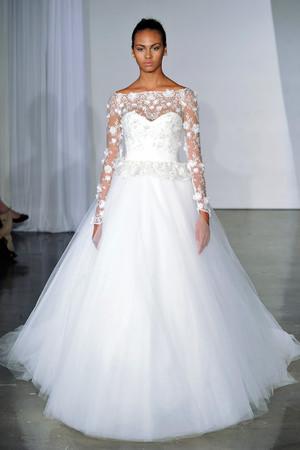 Long Sleeve Wedding Dresses, Fall 2013