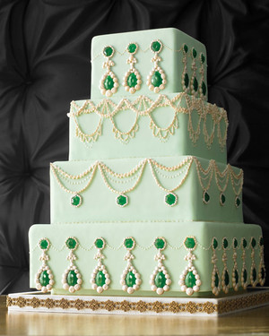 Green Wedding Cakes