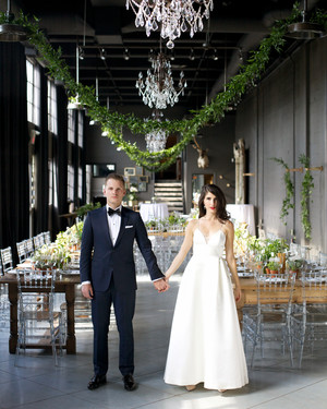 A Whimsical Warehouse Wedding in Calgary, Canada