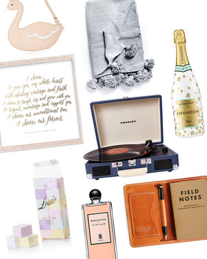 65 Holiday Gift Ideas for Everyone in Your Wedding Party
