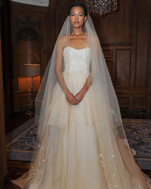 Marchesa Fall 2015 Bridal Show