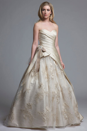 Ball Gown Wedding Dresses from Spring 2013 Bridal Fashion Week