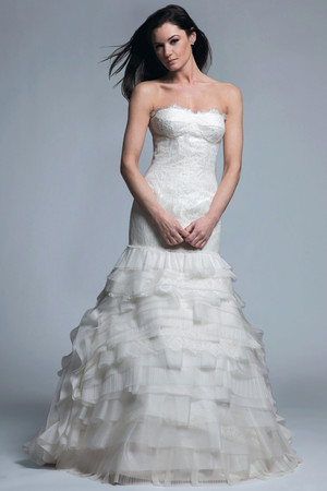 Trumpet Wedding Dresses from Spring 2013 Bridal Fashion Week