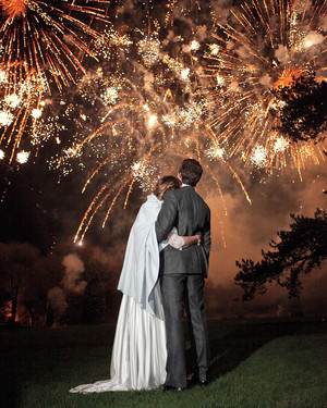 Amazing Fireworks and Sparklers from Real Weddings