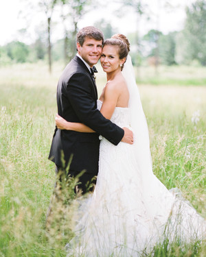 A Rustic Black-Tie Barn Wedding in Pennsylvania