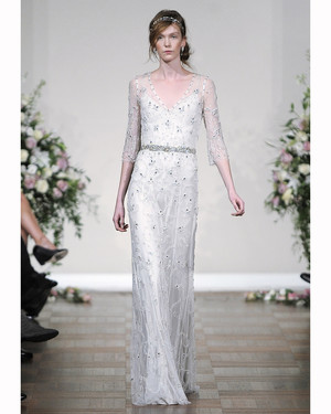 Three-Quarter Sleeve Wedding Dresses, Fall 2013