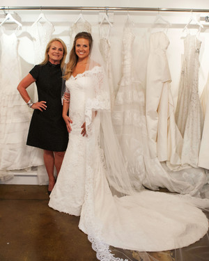 Inside Pamella Roland's Daughter's Wedding Dress Fitting