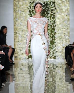 Reem Acra Fall 2015 Bridal Show