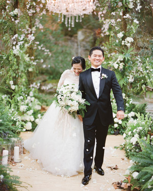 Adriana and Han's Storybook Winter Wedding