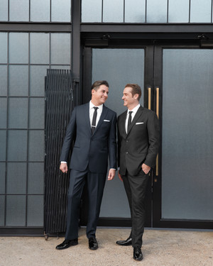 Anthony and Rusty's Broadway-Inspired Brooklyn Wedding