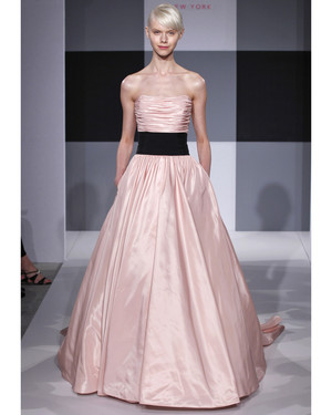 Pink Wedding Dresses, Spring 2013 Bridal Fashion Week