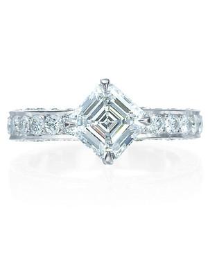 Princess-Cut Diamond Engagement Rings
