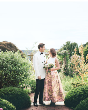 A Fashionable Garden-Party Style Wedding in New York City