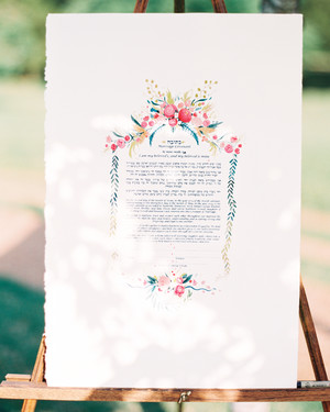 16 Ketubahs From Jewish Weddings That Prove How Pretty a Marriage Contract Can Be