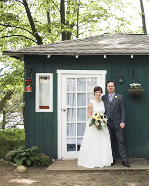 A Rustic Lakeside Wedding at a Wisconsin Camp