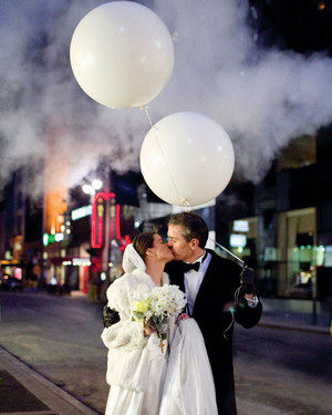 A Formal White Wedding in New York City