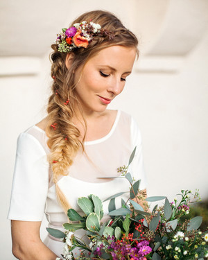 10 Ways to Upgrade the Wedding Braid